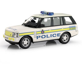 Range Rover III Phase I 2002-2005 West Yorkshire Police weiss / gelb / blau