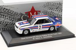 Opel Ascona B 400 #2 Winner Rallye Monte Carlo 1982 W. Röhrl / C. Geistdörfer