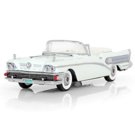 Buick Special Convertible 1958 weiss