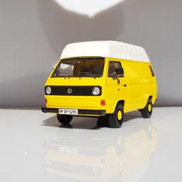 """VW T3 Kastenwagen Hochdach 1979-1992 """"Deutsche Bundespost gelb / weiss"""