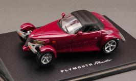 Plymouth Prowler Roadster 1997-2002 purple met. Dach geschlossen