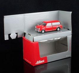 Austin Mini Countryman 1962-1969 rot / Holzoptik