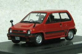 Honda Jazz / City Turbo 1983-1986 rot / schwarz