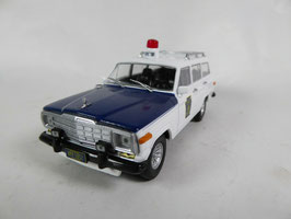 Jeep Grand Wagoneer 1963-1991 State Police Pennsylvania weiss / blau