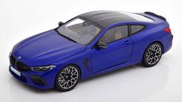 BMW M8 Coupé Competition F92 seit 2020 matt blau met. / Carbon