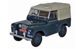 """Land Rover Series II SWB 1958-1971 Canvas RHD """"RAF Police dunkelblau / grau"""""""