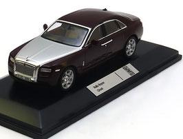 Rolls Royce Ghost seit 2009 dunkelrot met. / silber
