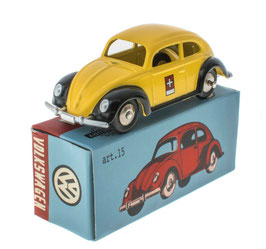 "VW Käfer ""Ovali"" 1953-1957 ""PTT Post Schweiz gelb / schwarz"""