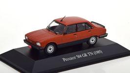 Peugeot 504 GR TN Limousine 1985 kupfer met. / schwarz