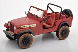 "Jeep CJ-7 1976-1986 ""TV-Serie A-Tem 1983-1987 rot"""