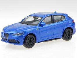 Alfa Romeo Stelvio seit 2017 blau met.