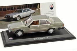 Maserati Quattroporte III Phase I 1979-1986 grau met.