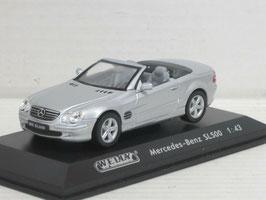 Mercedes-Benz SL 500 R230 Phase I 2001-2006 silber met.