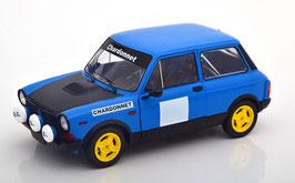 "Autobianchi A112 Abarth Phase V 1979-1982 blau / schwarz / gelb ""Rallye Chardonnet Item"""