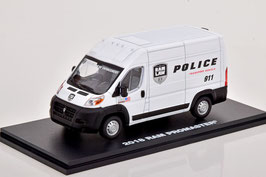 """Dodge Ram Promaster 2500 Cargo seit 2013 """"Police weiss / schwarz"""""""