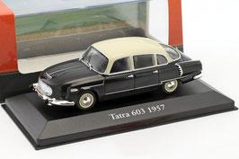 Tatra 603 Phase I 1956-1963 schwarz / creme