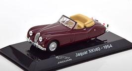 Jaguar XK 140 DHC 1954-1957 dunkelrot