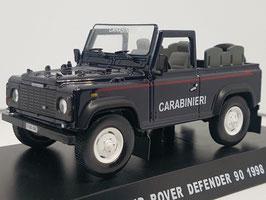 """Land Rover Defender 90 Cabriolet 1998 """"Carabinieri dunkelblau / weiss"""""""