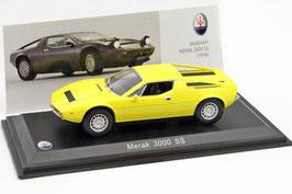 Maserati Merak 3000 SS 1975-1982 gelb