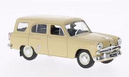 Moskwitsch 423 H Kombi 1956 beige