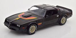 Pontiac Firebird TransAm Fire AM 1977 schwarz / Decor