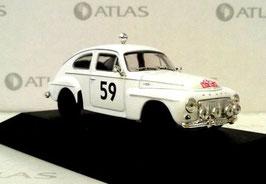 Volvo PV544 S weiss #59 Rallye Monte Carlo 1964 T. Trana / S. Lindstrom