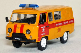 UAZ / GAZ 3909 seit 1985 Ambulanz orange