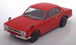 Nissan Skyline 2000 GT-R KPGC-10 1970-1971 RHD rot / schwarz