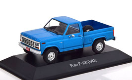 Ford F-100 Pick Up 1982 blau met.