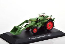 Fendt Dieselross F25 mit Schaufel 1951-1958 grün / rot
