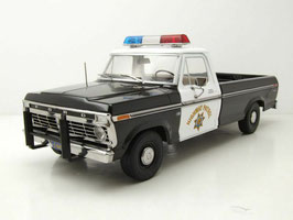 "Ford F-100 Pick Up 1975 ""Highway Patrol schwarz / weiss"""