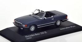 Mercedes-Benz 350 SL R107 Phase I 1972-1985 Lapis blau met.