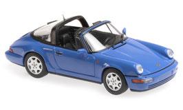Porsche 911 / 964 Carrera 2 Targa 1991-1994 blau