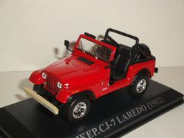 Jeep CJ-7 Lerado 1976-1986 rot