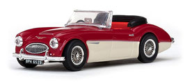 Austin Healey 3000 Roadster 1959-1967 tartan red / ivory