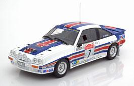 Opel Manta 400R Gr. B #7 4th Rallye San Remo 1983 Toivonen / Gallagher