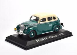 """Ford V8 1936-1937 """"Chicago TAXI 1936 dunkelgrün / beige"""""""