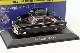 """Ford Zephyr MK II 1956-1962 """"Lancashire Police"""" RHD schwarz"""