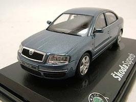 Skoda Superb I Limousine 2001-2008 blau met.