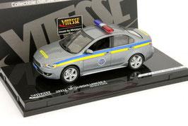 """Mitsubishi Lancer VIII 2007-2011 """"Police Kazakhstan grau met. / blau / gelb"""