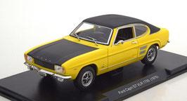 Ford Capri MK I GT XLR 1700 1968-1972 gelb / matt-schwarz