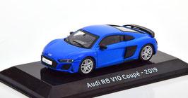 Audi R8 V12 Coupé S4 Phase II seit 2019 blau met. / schwarz