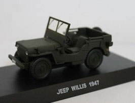 Jeep Willys offen 1947 Oliv