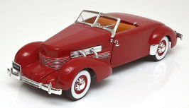 Cord 812 Convertible Road & Track 1937 dunkelrot