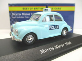 Morris Minor 1000 Phase III 1956-1971 South Yorkshire Police türkis