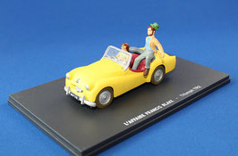 "Triumph TR2 1953-1955 gelb ""Blake et Mortimer"""