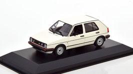 VW Golf II GTI Phase II 4-Türer 1984-1987 weiss / schwarz