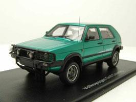 VW Golf II Country 4x4 1990-1991 türkis met. / schwarz