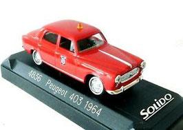 "Peugeot 403 Berline 1954 ""Pompiers rot"