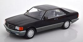 Mercedes-Benz 560 SEC C126 Phase II 1985-1991 schwarz / grau